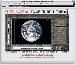 Global Warming: Focus on the Future